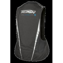 Nuevo Chaleco Airbag  electrónico e-Turtle Negro Helite. De espaldas