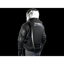 Nuevo Chaleco Airbag  electrónico e-Turtle Negro Helite. Espalda inflado